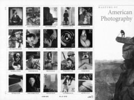 Masters of American Photography Collectible Sheet of 20 37 Cent Stamps S... - $21.95