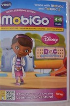 NEW MobiGo Vtech Touch Learning System Game-DOC McStuffins-Vtech-Ages: 4-6 - $6.99
