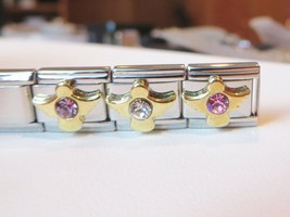 Gold Angel Birthstone Italian Charms February, April, October Casa D' Oro - $5.99