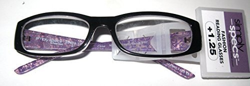 Primary image for Foster Gramt Simply Specs Ainsley Scroll Purple Women's Readers +1.25