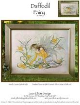 Daffodil Fairy JE033 cross stitch chart Joan Elliott Designs - $14.00
