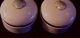 2 Empty Estee Lauder White Linen Body Powder Boxes holds 4.25 Oz - $15.95