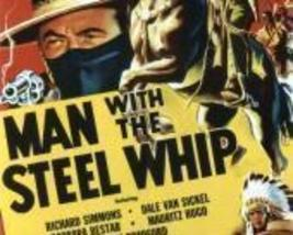 MAN WITH THE STEEL WHIP, 12 CHAPTER SERIAL, 1954 - $19.99