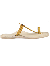 sandal eKolhapuri braided ladies Two handmade IqBwP4q