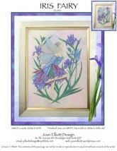 Iris Fairy JE034 cross stitch chart Joan Elliott Designs - $14.00