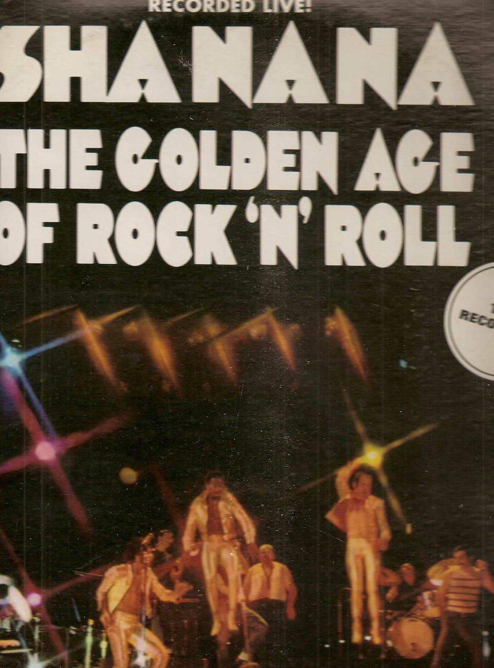 lp--Sha Na Na 	-	 The Golden Age Of Rock 'n' Roll