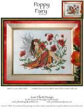Poppy Fairy JE035 cross stitch chart Joan Elliott Designs - $14.00