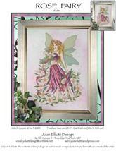 Rose Fairy JE036 cross stitch chart Joan Elliott Designs - $14.00