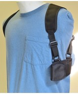 "Cell Phone Shoulder Holster Fits Phones 5.6"" TALL X 3"" WIDE - $24.70"