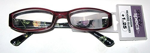 Primary image for Foster Gramt Simply Specs Zenaida Red Women's Readers +1.25
