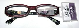 Foster Gramt Simply Specs Zenaida Red Women's Readers +1.25 - $19.99