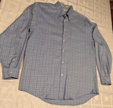 Joseph Abboud Men's Dress Long Sleeve Button Down Shirt Sz M 100% Cotton - $24.85 CAD
