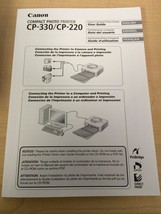 Canon Compact Photo Printer CP-330/CP-220 User ... - $6.36