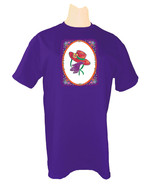 3X PURPLE T SHIRT FOR RED HAT LADIES OF SOCIETY W/ RED HAT PURPLE GLOVES... - $14.10