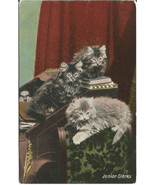 Junior Clerks Kittens in Finance Office Vintage... - $6.99