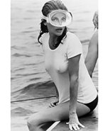 The Deep Jacqueline Bisset 16x20 Canvas Giclee Wet White T-Shirt - $69.99