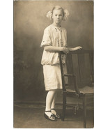 Real photograph postcard of Lovely young girl i... - $8.99