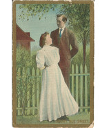 Short but sweet Vintage Postcard Great Image En... - $6.99