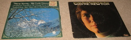2 Vintage Wayne Newton albums-Little Drummer Boy-Daddy Don't You Walk so... - $30.00