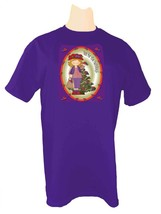 3 X Purple T Shirt For Red Hat Ladies Of Society W/ Christmas Decoration - $14.10