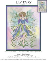 Lily Fairy JE038 cross stitch chart Joan Elliott Designs - $14.00
