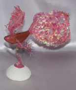 Collectible Polymer Clay Salmon Beta Fish Figur... - $19.99