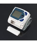 Digital LCD Wrist Arm Blood Pressure Monitor Heart Beat Meter Machine Ga... - $16.62