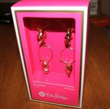 Lilly Pulitzer    WINE GLASS CHARMS    NIB    Target Limited - $27.54