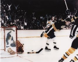 Bobby Orr Boston Bruins 05/10/70 Cup Winning Goal vs St Louis 8X10 Color... - $7.99