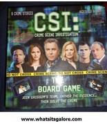 CSI lot BOARD GAME/jigsaw puzzle/TV GUIDES crime scene investigation mia... - $11.00