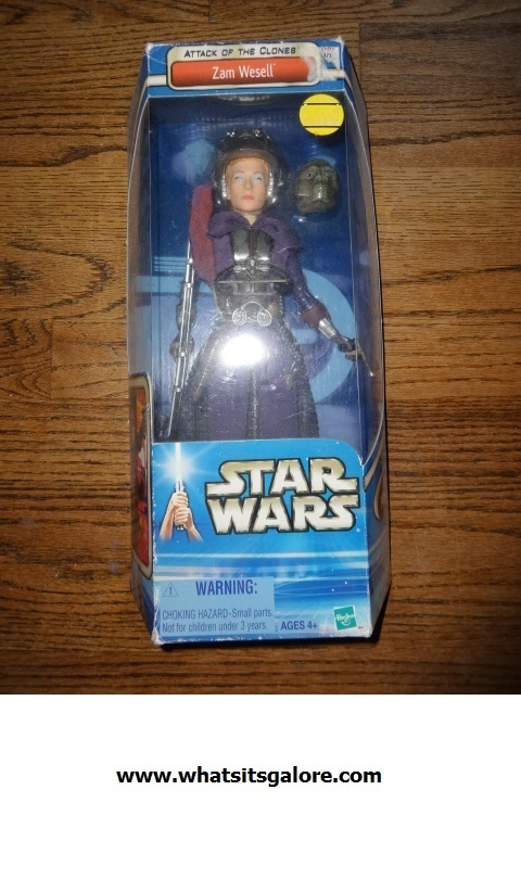 Star Wars Episode II ZAM WESELL large action figure Attack of the Clones