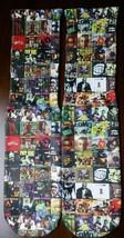 Custom Hip Hop 90s Dry Fit socks gamma laney X XII Fighter bred - $11.99