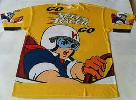 Custom Speed Racer Sublimated shirt bred toro thunder yellow lightning - $33.99