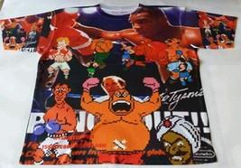 Custom Mike Tysons Punch Out Sublimated Shirt  pantone powder legend carolina - $33.99