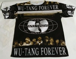 Wu Tang Forever T Sublimated shirt laney pantone bred hip hop bred - $36.99