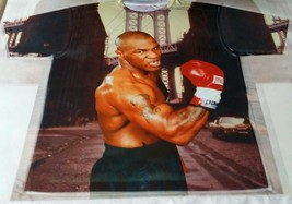 Custom Mike Tyson Sublimated Shirt  laney bred carmine powder galaxy  - $33.99