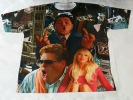 Custom Wolf of Wall Street shirt sublimated laney bred carmine  oreo georgetown - $33.99