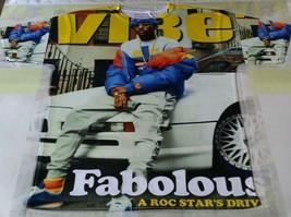 Custom Fabaolous mag cover Sublimated shirt hip hop thunder brooklyn def jam - $33.99