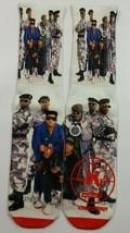 Custom Public Enemy dry Fit socks gamma laney X XII bred - $11.99