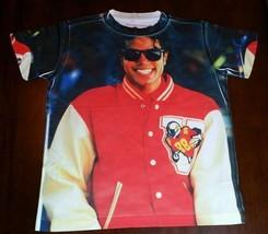 Custom Michael Jackson  Sublimated shirt bulls lakers bred toro infared VI XI 13 - $33.99