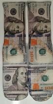 Custom $100 Bill Money Dry Fit Socks Cash Iii Iv V Vi Vii Xi X - $14.99