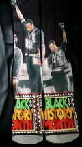 Custom Olympic gold Black History Month Dry Fit socks gamma bred oreo III IV V  - $11.99
