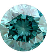 JewelMore 1/3carat  Round Brilliant Blue Loose Diamond - $92.57