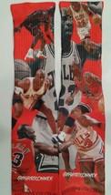 "Custom ""Jordan VS Jordan"" Dry Fit socks Carmine Bred III IV V TshirtConnex - $13.99"