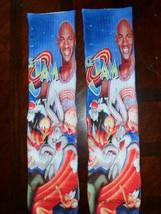 Custom Jordan Space Jam Dry Fit socks gamma laney oreo III IV V high - $13.99