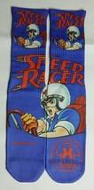 Custom Speed Racer blue dry Fit socks sport blue X XII radio raheem - $11.99