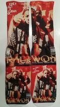 Custom Chef Raekwon dry fit socks X II III IV V ore barons gamma wu tang - $12.99