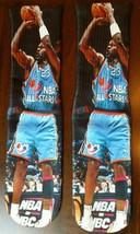 Custom Jordan All star Jumper DRY FIT socks Colombia blue   - $13.99