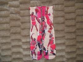 "Custom Jordan ""King Of The Court"" Dry Fit Socks Iii Iv V Vi Viii Vii X Xi Nba - $13.99"