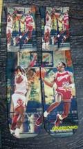 Custom Jordan vs Jordan playground Dry Fit socks grape gamma oreo XIII - $13.99